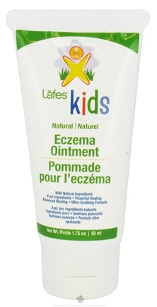 DROPPED: Lafes - Kids Natural Eczema Ointment Travel Size - 1.75 oz. CLEARANCE PRICED