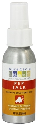 DROPPED: Aura Cacia - Essential Solutions Mist Pep Talk - 2 oz. CLEARANCE PRICED