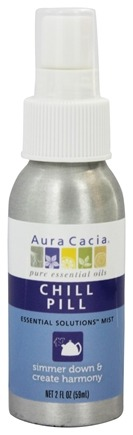 Aura Cacia - Essential Solutions Mist Chill Pill - 2 oz.