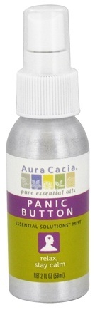 DROPPED: Aura Cacia - Essential Solutions Mist Panic Button - 2 oz.