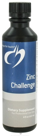 DROPPED: Designs For Health - Zinc Challenge - 8 oz. CLEARANCE PRICED