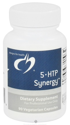 DROPPED: Designs For Health - 5HTP Synergy - 90 Vegetarian Capsules