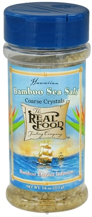 DROPPED: FunFresh Foods - Hawaiian Bamboo Sea Salt Coarse - 7.6 oz. CLEARANCE PRICED