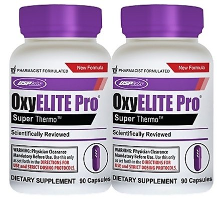 DROPPED: USP Labs - UNPUBLISHED Oxy Elite Pro Super Thermogenic New Formula - 2 Pack