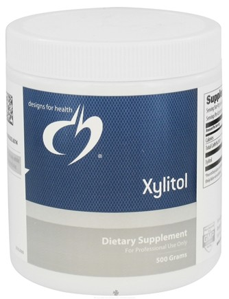 DROPPED: Designs For Health - Xylitol Powder - 500 Grams CLEARANCE PRICED