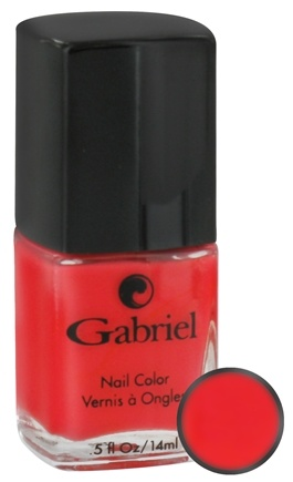 DROPPED: Gabriel Cosmetics Inc. - Nail Color Hibiscus - 0.5 oz. CLEARANCE PRICED