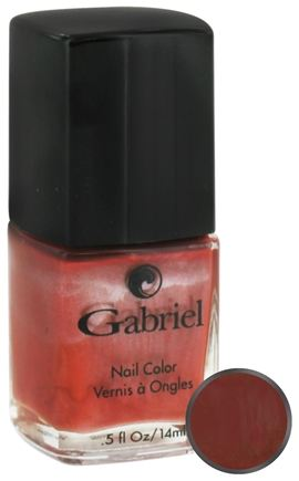 DROPPED: Gabriel Cosmetics Inc. - Nail Color Spiced Apple - 0.5 oz. CLEARANCE PRICED