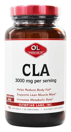DROPPED: Olympian Labs - CLA 3000 mg. - 90 Softgels
