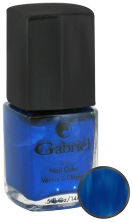 DROPPED: Gabriel Cosmetics Inc. - Nail Color Lagoon - 0.5 oz. CLEARANCE PRICED