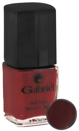 DROPPED: Gabriel Cosmetics Inc. - Nail Color Sangria - 0.5 oz. CLEARANCE PRICED
