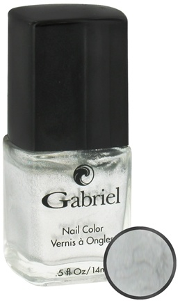 DROPPED: Gabriel Cosmetics Inc. - Nail Color Liquid Silver - 0.5 oz. CLEARANCE PRICED