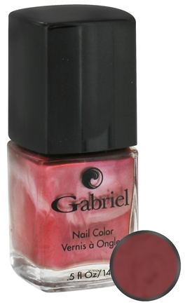 DROPPED: Gabriel Cosmetics Inc. - Nail Color Candied Chestnut - 0.5 oz. CLEARANCE PRICED