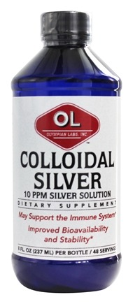 Olympian Labs - Colloidal Silver 10 Ppm - 8 oz.