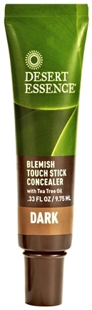 DROPPED: Desert Essence - Blemish Touch Stick Concealer Dark - 0.33 oz. CLEARANCE PRICED