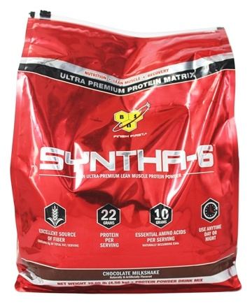 BSN - Syntha-6 Sustained Release Protein Powder Chocolate Milkshake - 10.05 lbs.