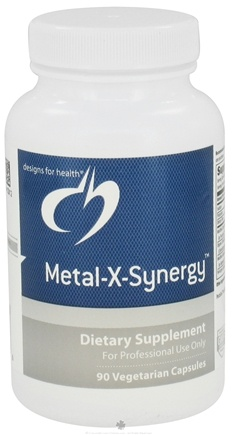 DROPPED: Designs For Health - Metal-X-Synergy - 90 Vegetarian Capsules CLEARANCE PRICED
