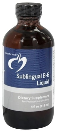 DROPPED: Designs For Health - Sublingual B6 Liquid - 4 oz.