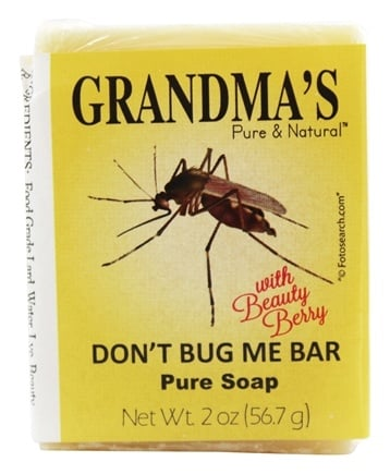 DROPPED: Remwood Products Co. - Grandma's Pure & Natural Don't Bug Me Bar - 2.15 oz.