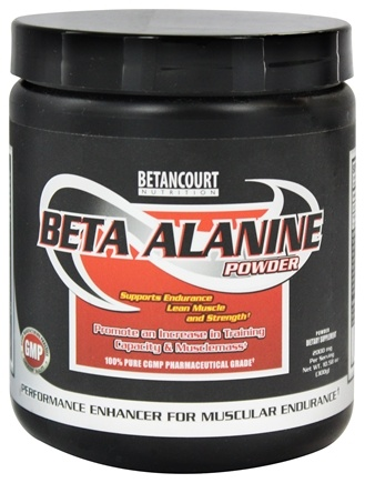 DROPPED: Betancourt Nutrition - Beta Alanine Powder - 300 Grams CLEARANCE PRICED