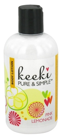 DROPPED: Keeki Pure & Simple - Body Lotion Pink Lemonade - 8 oz. CLEARANCE PRICED