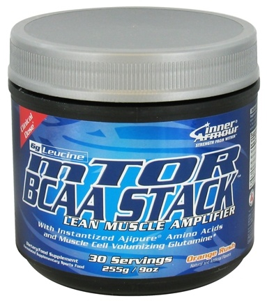 DROPPED: Inner Armour - mTOR BCAA Stack 30 Servings Orange Rush - 9 oz.