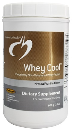 DROPPED: Designs For Health - Whey Cool Natural Vanilla Flavor - 900 Grams