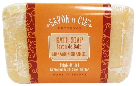 DROPPED: Savon et Cie - Triple Milled Bath Soap Cinnamon Orange - 7 oz. CLEARANCE PRICED