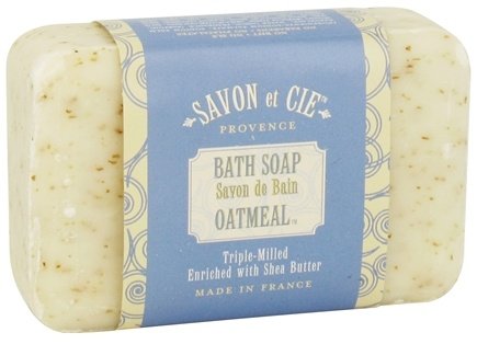 DROPPED: Savon et Cie - Triple Milled Bath Soap Oatmeal - 7 oz. CLEARANCE PRICED