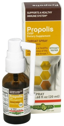 DROPPED: Erba Vita - Propolis EVSP Throat Spray - 0.68 oz. CLEARANCE PRICED