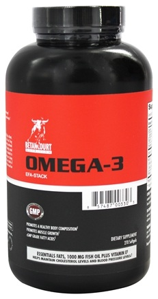 DROPPED: Betancourt Nutrition - Omega-3 EFA Stack - 270 Softgels CLEARANCE PRICED