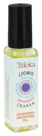 DROPPED: Triloka - Chakra Anointing Oil Crown Chakra - 7.4 ml. CLEARANCE PRICED