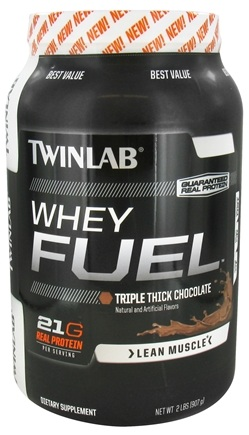 DROPPED: Twinlab - Whey Fuel Triple Thick Chocolate - 2 lbs. CLEARANCE PRICED