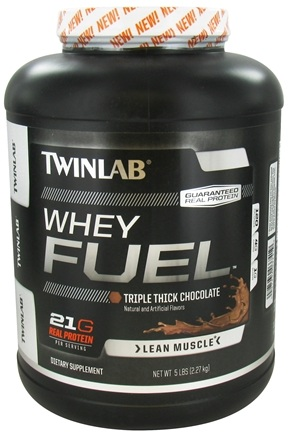 DROPPED: Twinlab - Whey Fuel Triple Thick Chocolate - 5 lbs.