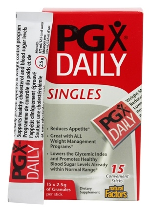Natural Factors - PGX Daily Singles - 15 x 2.5 g Packets