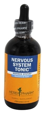 DROPPED: Herb Pharm - Nervous System Tonic Compound - 4 oz.
