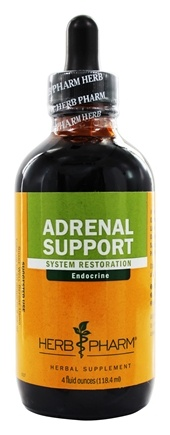 Herb Pharm - Adrenal Support Tonic Compound - 4 oz.