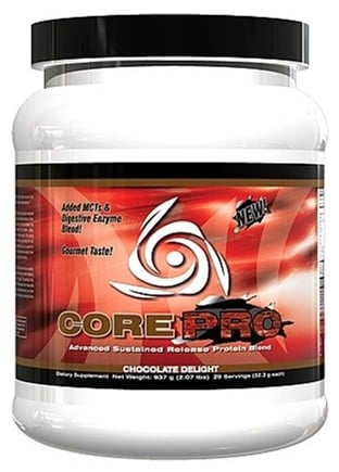 DROPPED: Core Nutritionals - Core PRO Advanced Sustained Release Protein Blend Chocolate Delight 29 Servings - 2.07 lbs. CLEARANCE PRICED