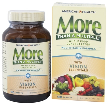 DROPPED: American Health - More Than A Multiple with Vision Essentials - 90 Tablets