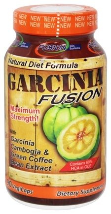 DROPPED: Fusion Diet Systems - Garcinia Fusion Maximum Strength - 90 Vegetarian Capsules