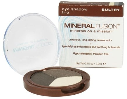 DROPPED: Mineral Fusion - Eye Shadow Trio Sultry - 0.1 oz. CLEARANCE PRICED