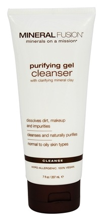 DROPPED: Mineral Fusion - Purifying Gel Cleanser - 7 oz.