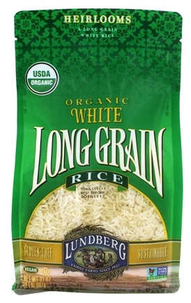 Lundberg - Organic Long Grain White Rice - 32 oz.