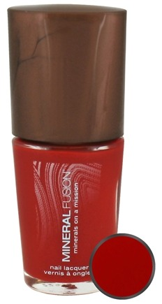 DROPPED: Mineral Fusion - Nail Polish Fiery Lava - 0.33 oz. CLEARANCE PRICED