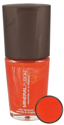 DROPPED: Mineral Fusion - Nail Polish Radiant Amber - 0.33 oz. CLEARANCE PRICED