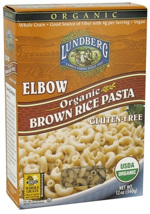 DROPPED: Lundberg - Organic Elbow Brown Rice Pasta - 12 oz. CLEARANCE PRICED