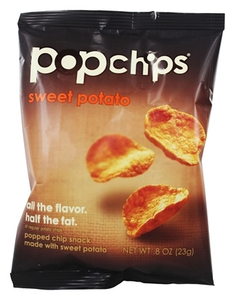 DROPPED: Popchip - Potato Chips Sweet Potato - 0.8 oz.