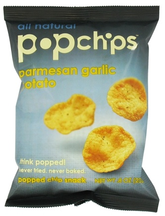 DROPPED: Popchip - Potato Chips All Natural Parmesan Garlic - 0.8 oz.