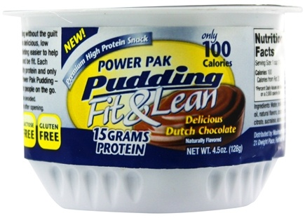 MHP - Fit & Lean Power Pak Pudding 1 Cup Chocolate - 4.5 oz.