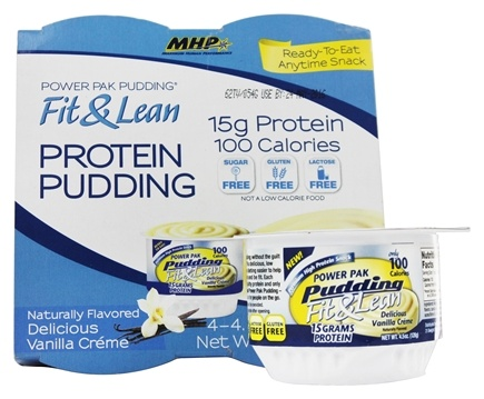 DROPPED: MHP - Fit & Lean Power Pak Pudding 1 Cup Vanilla - 4.5 oz.