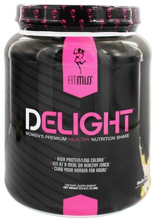 DROPPED: FitMiss - Delight Women's Premium Healthy Nutrition Shake Vanilla Chai - 1.13 lbs.
